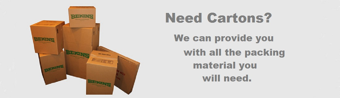 Cartons for mover, all types of packing materials